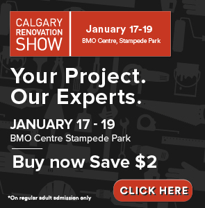 Get discounted Tickets for the Calgary Renovation Show